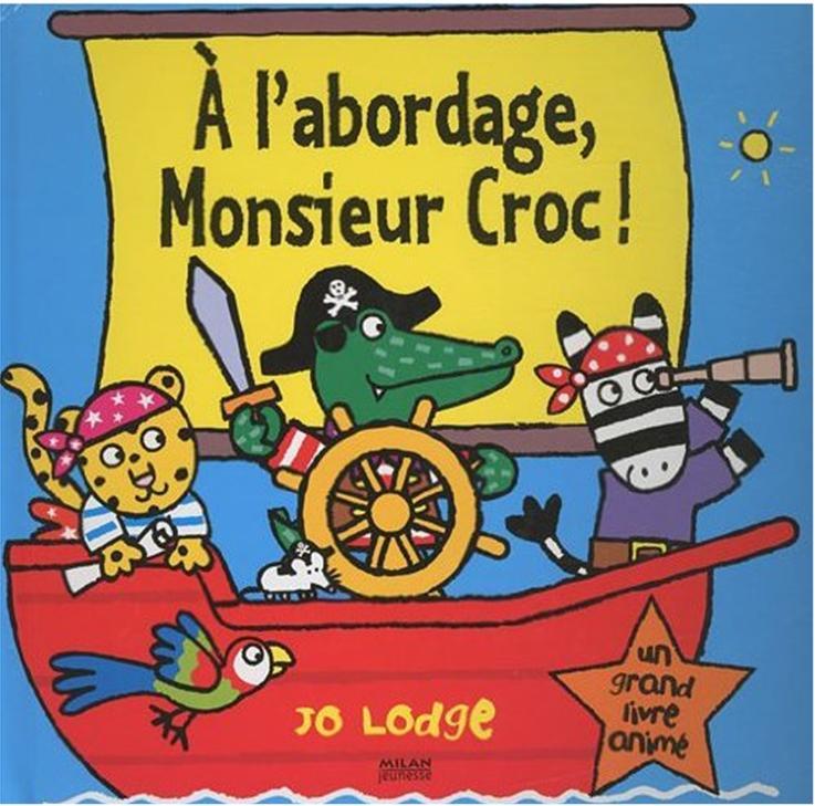 livre pirates l'abordage monsieur croc