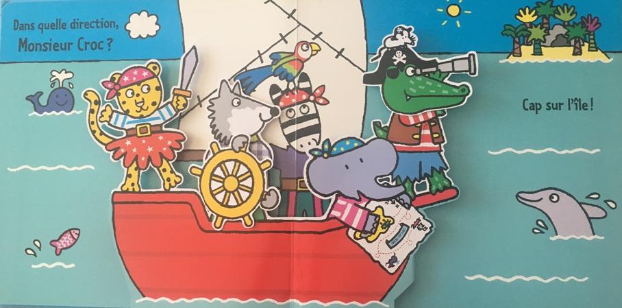 livre ouvert a labordage croc pirates