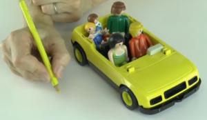 3eme etape histoire voiture tenir crayon