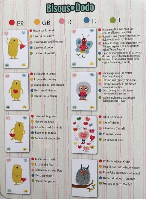regles jeu bisous dodo djeco