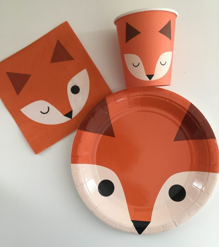set table 2 papa ratatam un an anniversaire renard
