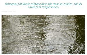 Happy Menagerie riviere enfant bienveillance papa ratatam blog