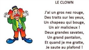 le clown blog papa ratatam comptine