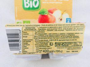 Compotes ingrédients tilapins Casino BIO blog de papa ratatam