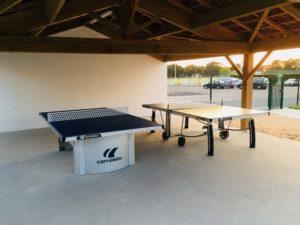 table de ping pong odalys noirmoutier papa ratatam domaine des pins