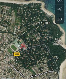 localisation zoom odalys noirmoutier domaine des pins blog papa ratatam