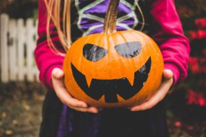 fille 4 ans halloween blog papa Ratatam