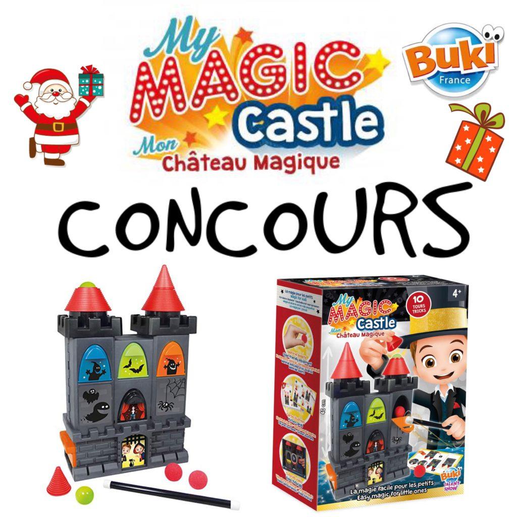 concours instagram papa ratatam buki chateau magique