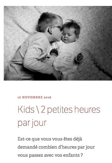 les petits papiers 2h par jour enfant blog papa ratatam