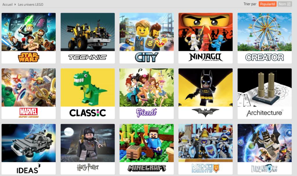es univers Lego avenue de la brique Blog Papa Ratatam