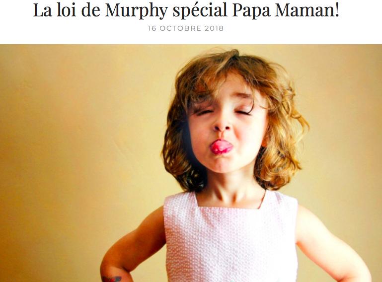 rire des anges loi de murphy blog papa ratatam enfants