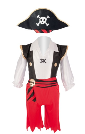 costume pirate enfant 2 4 ans oxybul noel blog papa ratatam