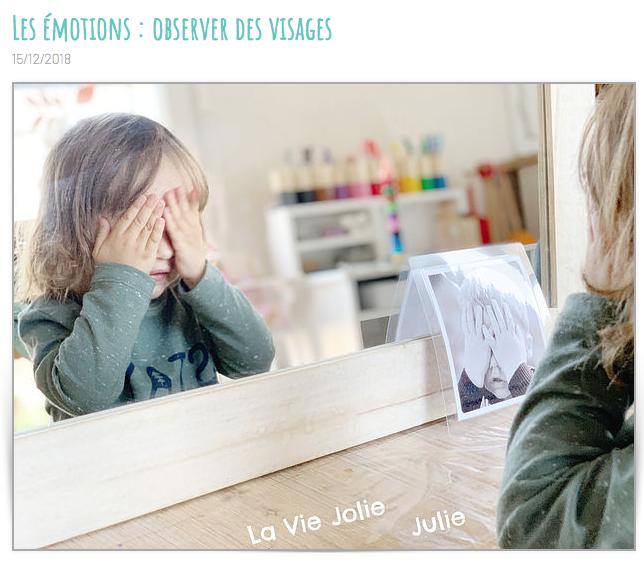 la vie jolie julie blog emotions visage papa ratatam