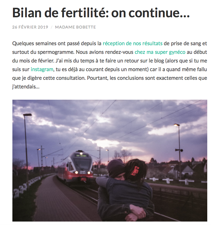 madame bobette bilan fertilite blog papa ratatam selection