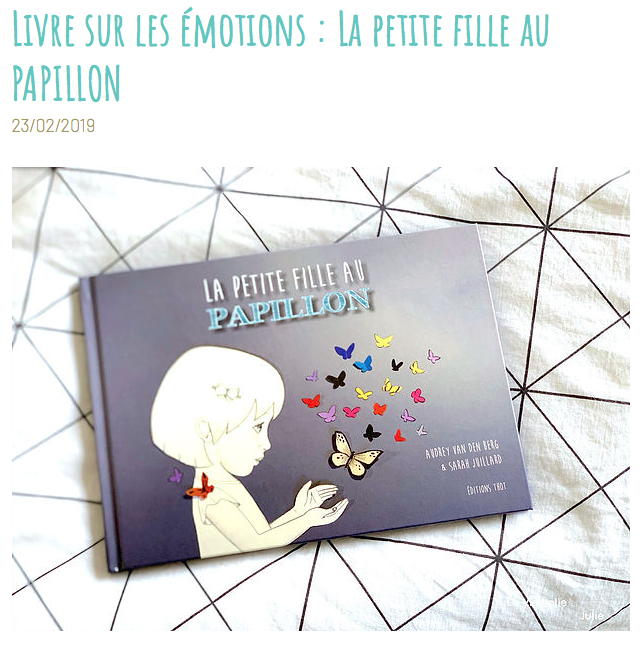 petite fille au papillon emotion vie jolie julie top blog papa ratatam