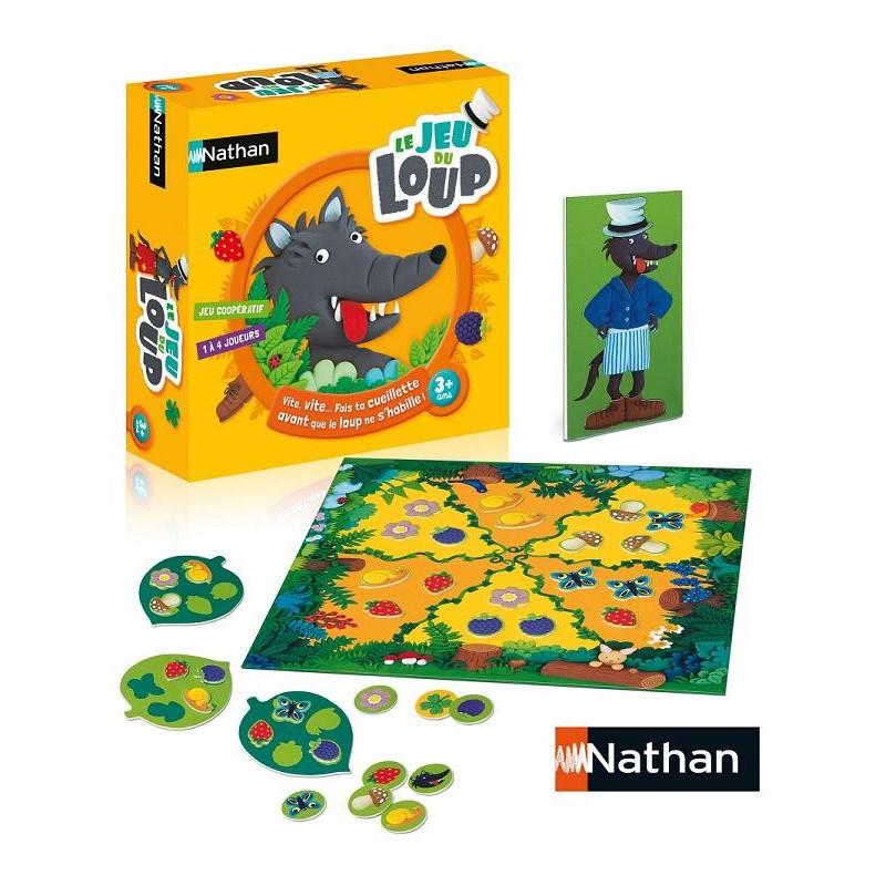 jeu du loup nathan jeu société coopératif enfant 2 ans blog papa ratatam