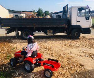 camion remorque enfant garcon falk toys tracteur papa ratatam.