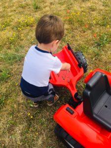 remorque enfant garcon falk toys tracteur papa ratatam