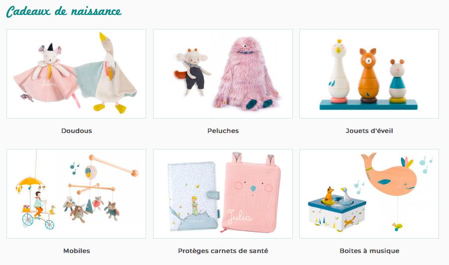 Cadeaux de Naissance JeuJouet.com Papa Ratatam