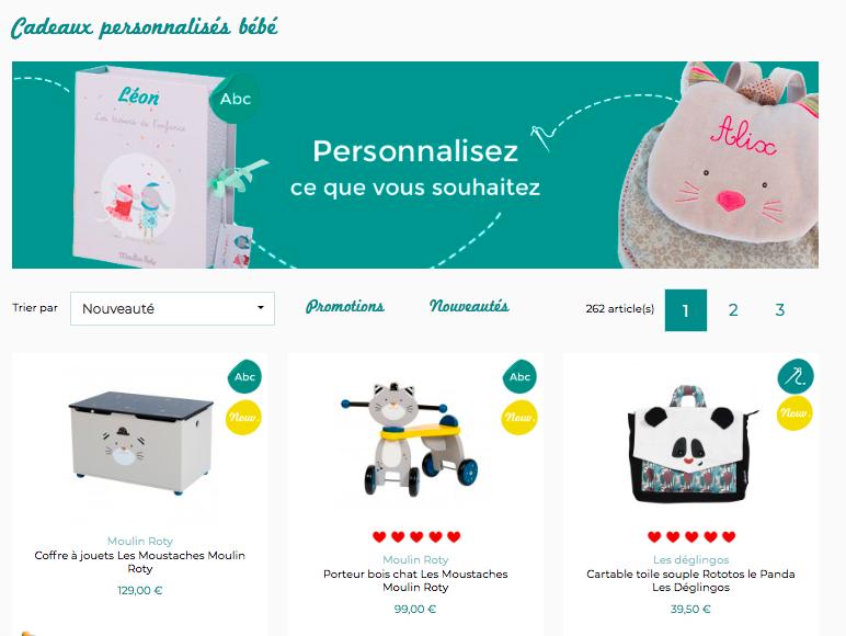 Cadeaux personnalisables JeuJouet.com Papa Ratatam