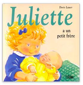 Juliette à un petit frère editions lito blog papa Ratatam