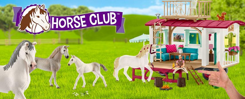 horse club schleich papa ratatam blog chevaux