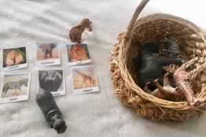 panier savane schleich Papa ratatam blog figurines enfants animaux