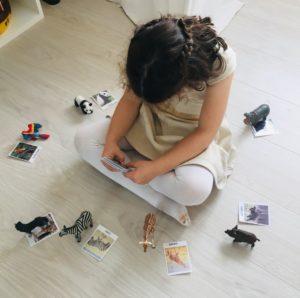 ronde schleich Papa ratatam blog figurines enfants animaux