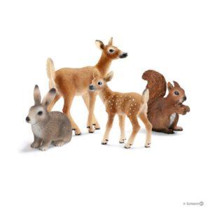 schleich animaux foret blog papa ratatam